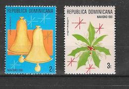 876/7 * *  Postfris Zonder Scharnier - República Dominicana