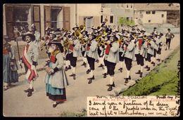Tiroler Trachten Musikkapelle Von Brixlegg - Old Postcard Tirol Tyrol MUSIC BAND Editor Stengel & Co AUSTRIA 1900s - Non Classificati