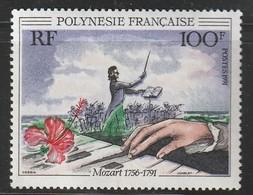 POLYNESIE - N°389 ** (1991) W.A.Mozart - Polynésie Française