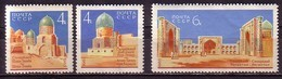 RUSSIA & URSS - 1963 - Samarcand - 3v** Mi 2824/26 - 1923-1991 URSS
