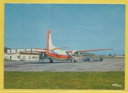 87 - Haute Vienne - Avion/ Airplane / T.A.F. / Fokker 50 / Seen At Limoges-Bellegarde Airport / Aéroport - Aérodromes