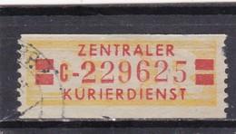 DDR, Dienst B: Wertstreifen Nr. 19 II, C, Gest. (T 16467) - [6] République Démocratique