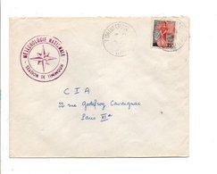 ALGERIE LETTRE DE TIMIMOUN POUR LA FRANCE 1959 - Covers & Documents