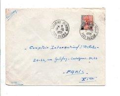 ALGERIE LETTRE DE TAOURIRT MIMOUN TIZI OUZOU POUR LA FRANCE 1959 - Algérie (1924-1962)