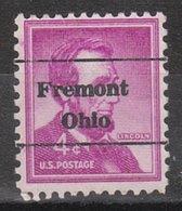 USA Precancel Vorausentwertung Preo, Locals Ohio, Fremont L-9 TS - United States