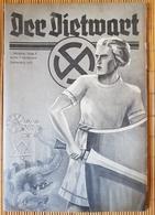Der Dietwart, 1. Jahrgang Folge 9, 5.9.1935 - German