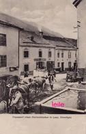 PHOTO : Transport Eines Marmorblockes In Laas, Vinschgau, Photo D'une Ancienne Carte Postale, 2 Scans - Lugares