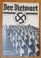 Der Dietwart, 1. Jahrgang Folge 12, 20.10.1935 - German