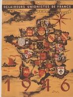 Scout Calendrier Eclaireurs Unionistes De France 1946 - Calendars