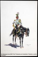 Costume Militaire Belge J. DEMART Belgian Military Costume - 2ème LANCIERS Trompette Gde Tenue 1830 Trumpet Great Outfit - Uniformes