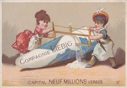 RARE  CHROMO LIEBIG  CAPITAL NEUF MILLIONS VERSÉS  4 MÉDAILLES D' OR - Liebig
