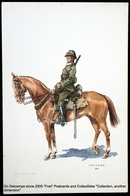 Costume Militaire Belge J. DEMART Belgian Military Costume - 2ème LANCIERS Soldat Tenue Campagne 1918 - Uniformes