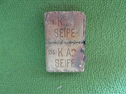 WW1 German Soldier's Issue Soap Bar - 1914-18
