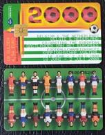 "NEDERLAND / HOLAND  -   ""FOOTBALL-2000""  , Soccer Phonecard - Nederland"