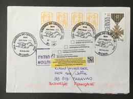 Creil Meeting Du Centenaire Base Aérienne 110 2016 Retour à L'envoyeur - Postmark Collection (Covers)