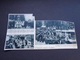"""Origineel Knipsel ( 4232 ) Uit Tijdschrift """" De Stad """"  1932 :   Hoogstraeten   Hoogstraten - Old Paper"""