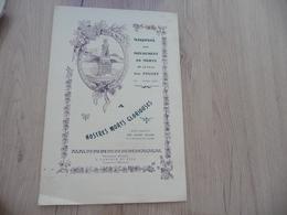 Rare Plaquette En Provençal Occitan Inauguration Monument Aux Morts Du Pouget Hérault 1922 Tellier - Documenten