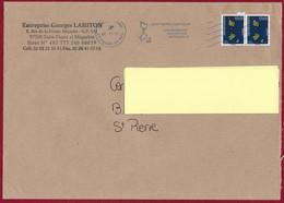 """St.Pierre Et Miquelon 2017 Oblitéré  YT 1174 """" Paire  Carte 20g  Bleu """" NEOPOST St Pierre - St.Pierre & Miquelon"""