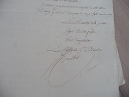 Ministère De La Guerre Napoléon LAS Autographe Signée Goulnot Paris 28/10/1813 Contre Visite Vétérans Pour Engagement - Documenten