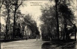 Cp Gambais Yvelines, L'Avenue Des Quatre Piliers - France