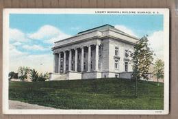CPA USA - DAKOTA DU NORD - BISMARCK - Liberty Memorial Building - TB PLAN EDIFICE - Bismark