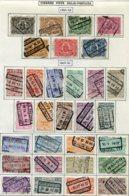 18193 BELGIQUE Collection Vendue Par Page Colis-postaux N°128/34, 135/55 °  1922-23   B/TB - Belgium