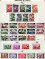 18195 BELGIQUE Collection Vendue Par Page Colis-postaux N°178/200, 202/9 Sauf 201 °/ *  1935-39   B/TB - Belgium