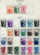 18198 BELGIQUE Collection Vendue Par Page Colis-postaux N°260/2, 264/94 Sauf 26,270,278, 296, 298/303°/* 1942-48 B/TB - Belgium