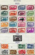18199 BELGIQUE Collection Vendue Par Page Colis-postaux N°304/21, 321A, 322, 324/9 °  1949-50  B/TB - Belgium