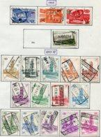 18200 BELGIQUE Collection Vendue Par Page Colis-postaux N°331/3, 335, 336/49 °  1953   B/TB - Belgium