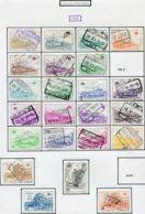 18202 BELGIQUE Collection Vendue Par Page Colis-postaux N°378/84, 386/97, 398/9, 401/2 ° 1968  B/TB - Belgium