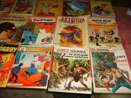 Lot De 19 Bandes Dessinées + 1 Livre Illustré Par Ergé - Books, Magazines, Comics