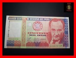 PERU 50.000  50000 Intis 28.6.1988  P. 142  IPSZ  UNC - Perù