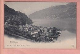 OLD POSTCARD SWITZERLAND -  AUTO -  MUHLEHORN - GL Glaris