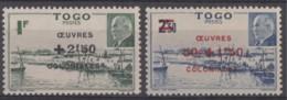 N° 226 Et N° 227 - X X - ( C 712 ) - Togo (1914-1960)