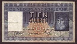 PAYS BAS - 1o Gulden Du 30 04 1937 - Pick 49 - [2] 1815-… : Koninkrijk Der Verenigde Nederlanden