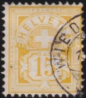 Suisse    .   Yvert        .     62  (2 Scans)          .   O      .      Oblitéré   .   /   .   Gebraucht - 1882-1906 Armoiries, Helvetia Debout & UPU