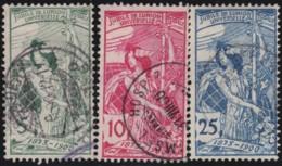 Suisse    .   Yvert        .     86/88      .   O      .      Oblitéré   .   /   .   Gebraucht - 1882-1906 Armoiries, Helvetia Debout & UPU