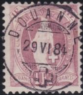 Suisse    .   Yvert        .     78      .   O      .      Oblitéré   .   /   .   Gebraucht - 1882-1906 Armoiries, Helvetia Debout & UPU