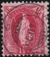 Suisse    .   Yvert        .     79      .   O      .      Oblitéré   .   /   .   Gebraucht - 1882-1906 Armoiries, Helvetia Debout & UPU