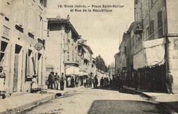 38 - Rives - Place Saint Vallier - 2471 - Non Classés