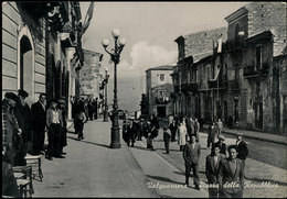 VALGUARNERA (CALTANISSETTA) PIAZZA DELLA REPUBBLICA 1955 - Caltanissetta