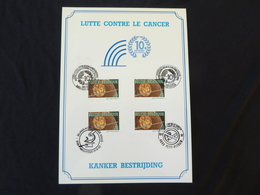 "BELG.1993 2525 FDC Filatelic Card : "" Kankerbestrijding / Lutte Contre Le Cancer "" - FDC"