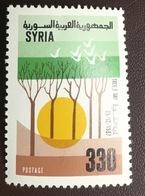 Syria 1987 Tree Day MNH - Siria