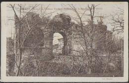 FRANCE - GIRONDE - BLAYE - RUINES DU CHATEU CARIBERT - FORMATO PICCOLO - VIAGGIATA 1924 PER L'ITALIA - Blaye