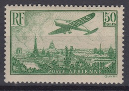 FRANCE : POSTE AERIENNE N° 14 NEUF * GOMME LEGERE TRACE DE CHARNIERE COTE 1100 € - 1927-1959 Mint/hinged