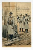 France, Uniforms, Military, Art Sign Pc. By PIERRE ALBERT LEROUX ( 2 Scans ) - Uniformes