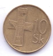 SLOVAKIA 1994: 10 Korun, KM 11 - Slovakia
