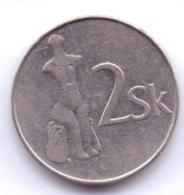 SLOVAKIA 1994: 2 Koruna, KM 13 - Slovakia