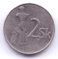 SLOVAKIA 1994: 2 Koruna, KM 13 - Eslovaquia